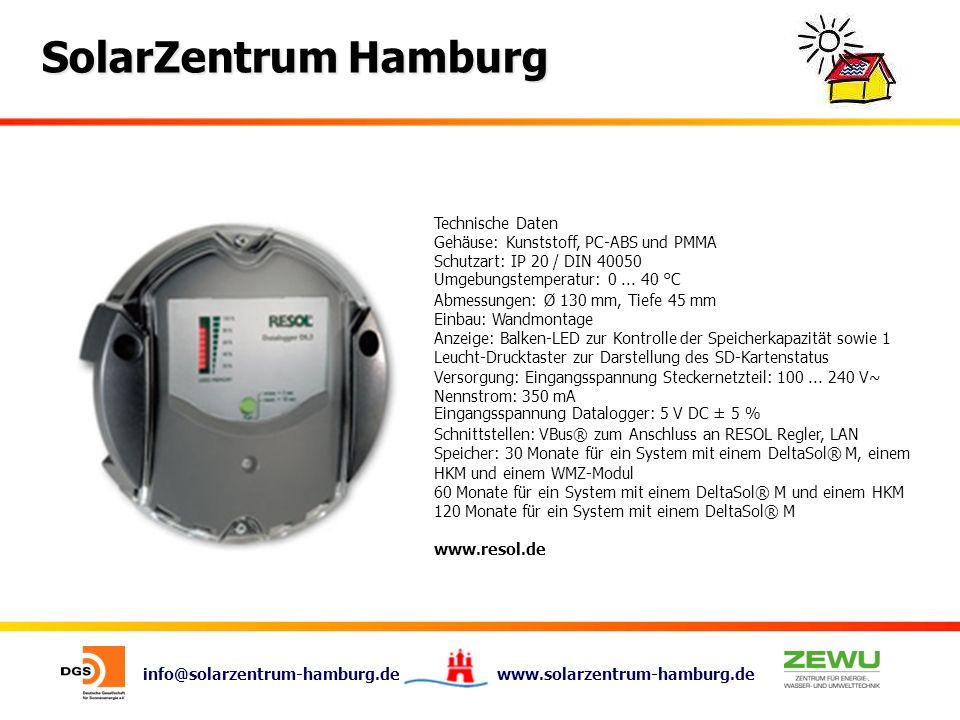 Technische Daten Gehäuse: Kunststoff, PC-ABS und PMMA. Schutzart: IP 20 / DIN 40050. Umgebungstemperatur: 0 ... 40 °C.