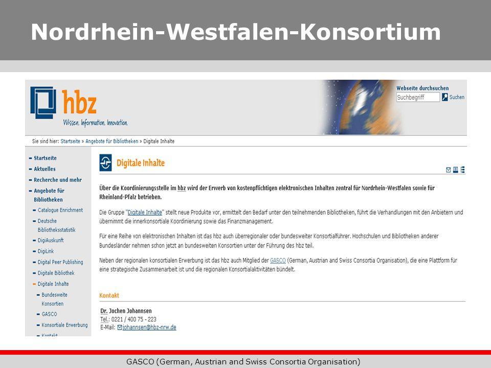 Nordrhein-Westfalen-Konsortium