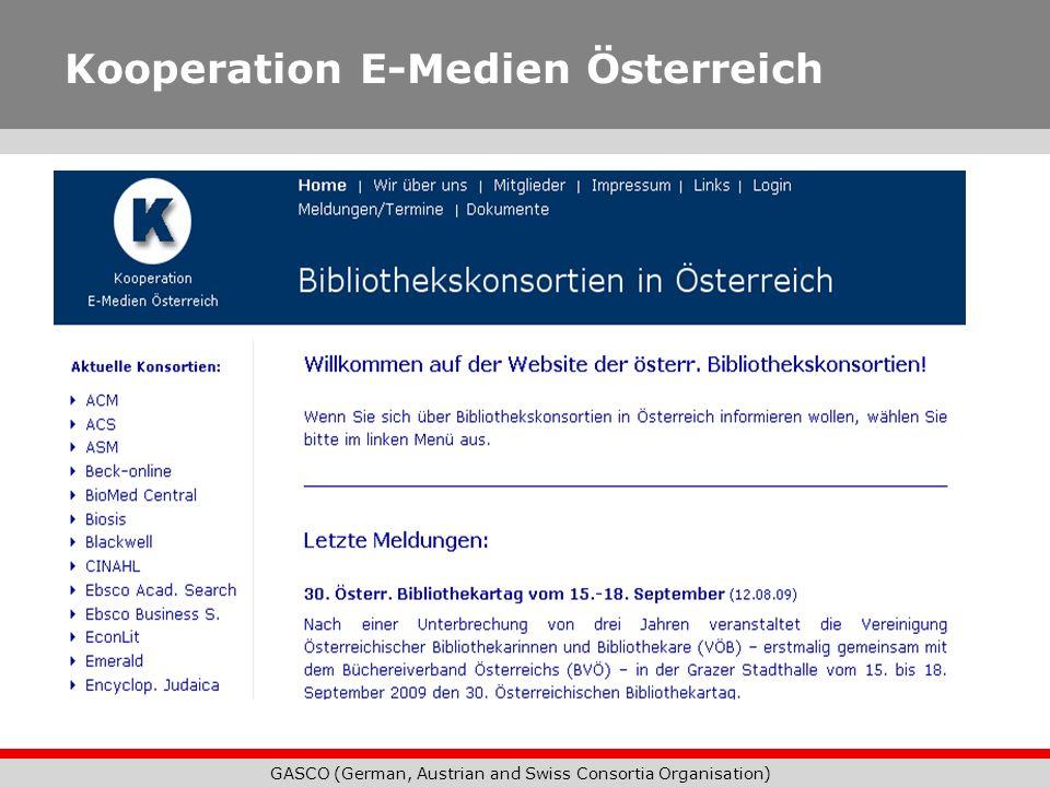 Kooperation E-Medien Österreich