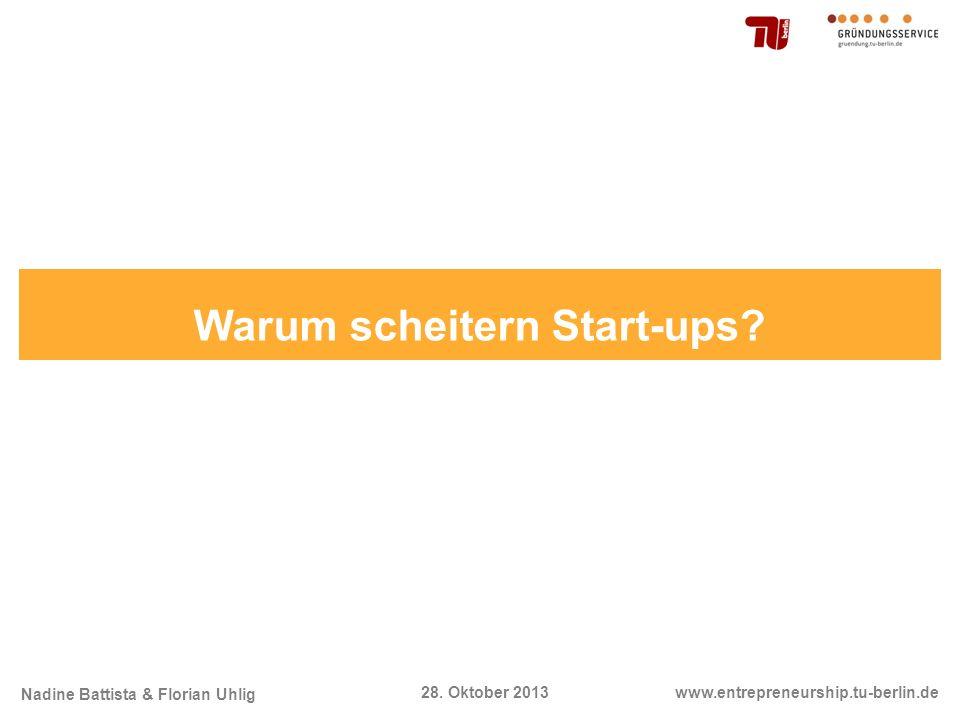Warum scheitern Start-ups