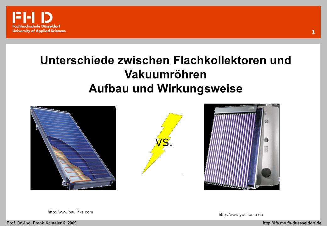 Unterschiede zwischen Flachkollektoren und Vakuumröhren