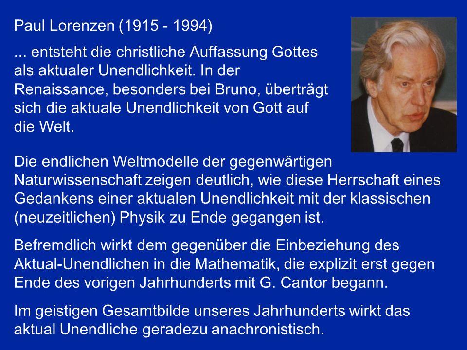 Paul Lorenzen (1915 - 1994)