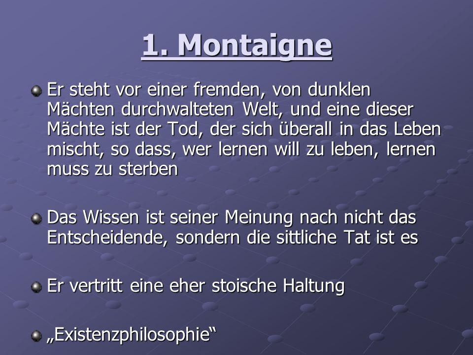 1. Montaigne