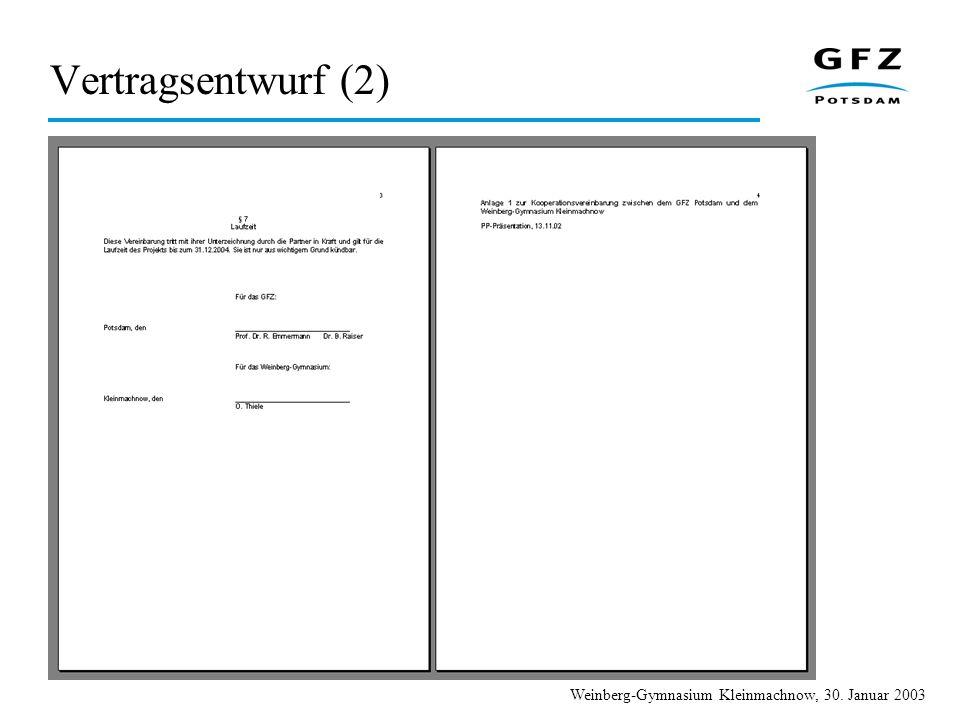 Vertragsentwurf (2)