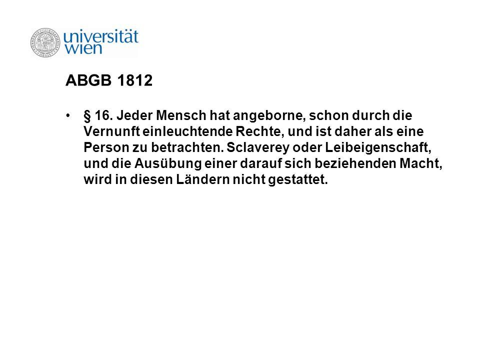 ABGB 1812