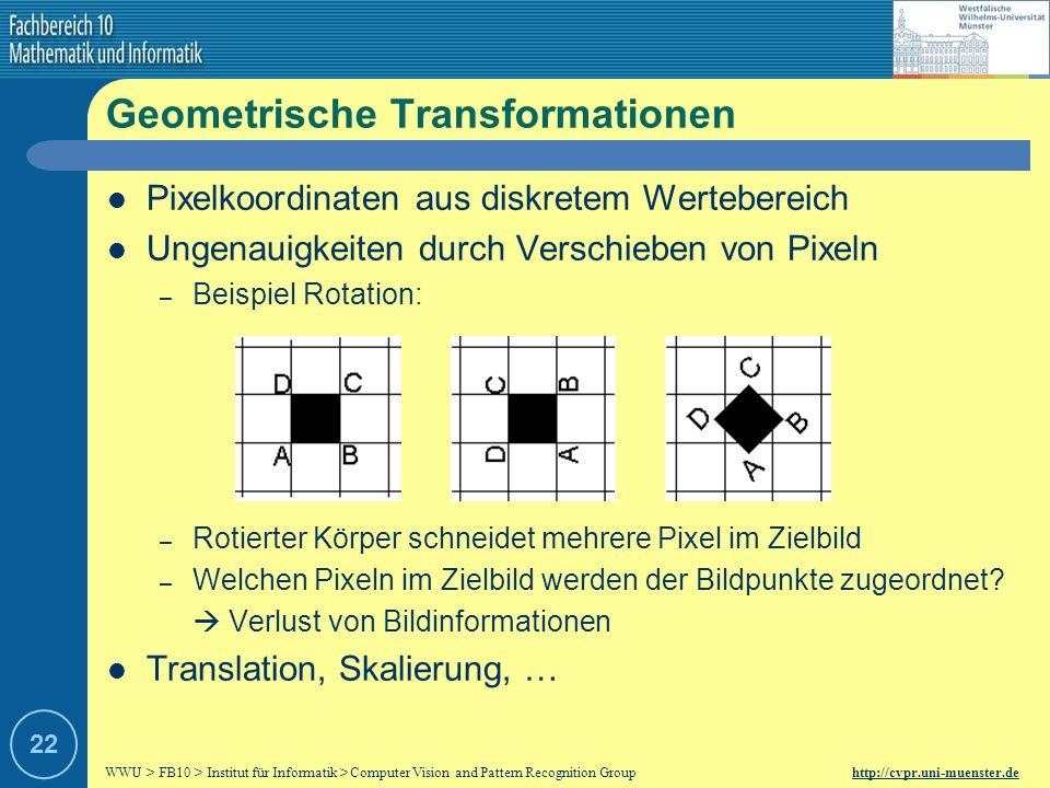 Geometrische Transformationen
