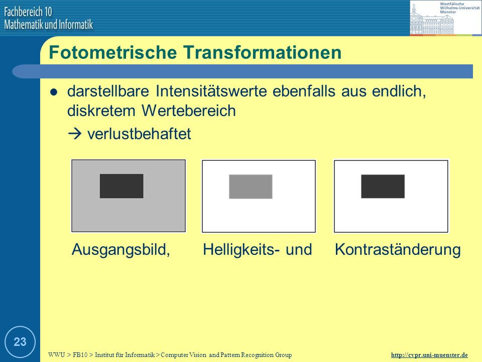 Fotometrische Transformationen