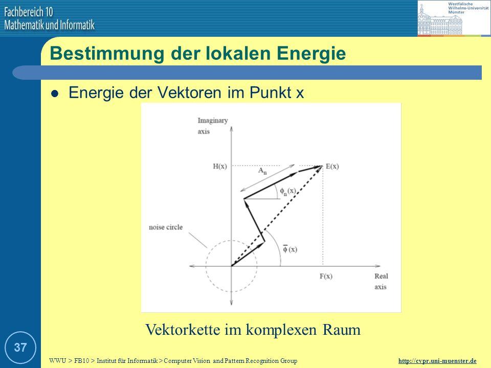 Bestimmung der lokalen Energie