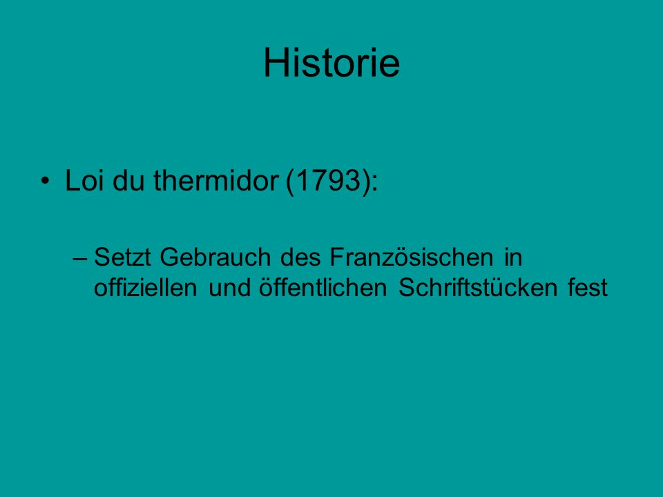 Historie Loi du thermidor (1793):
