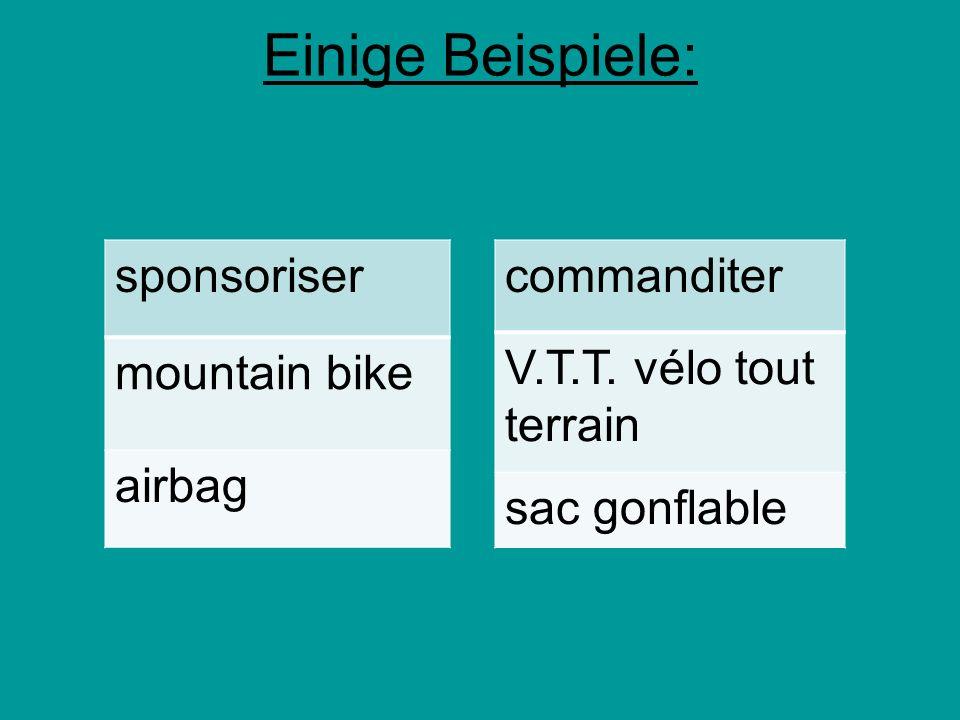Einige Beispiele: sponsoriser mountain bike airbag commanditer
