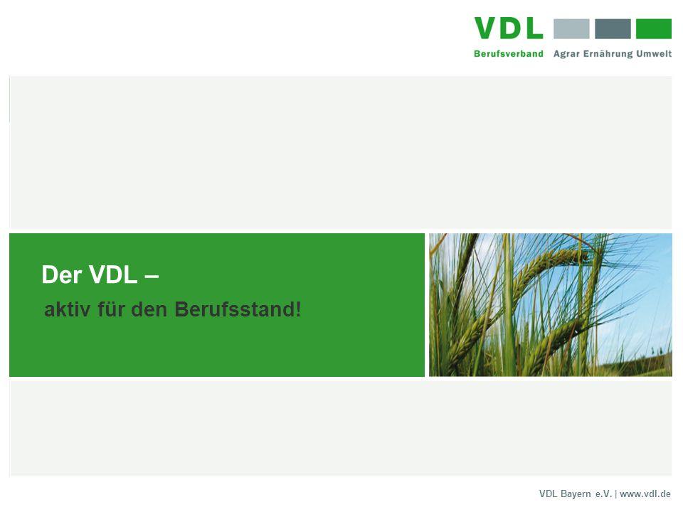 Der VDL – aktiv für den Berufsstand!