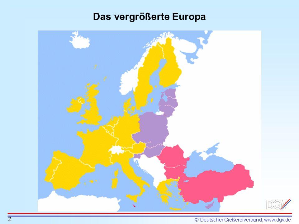 Das vergrößerte Europa