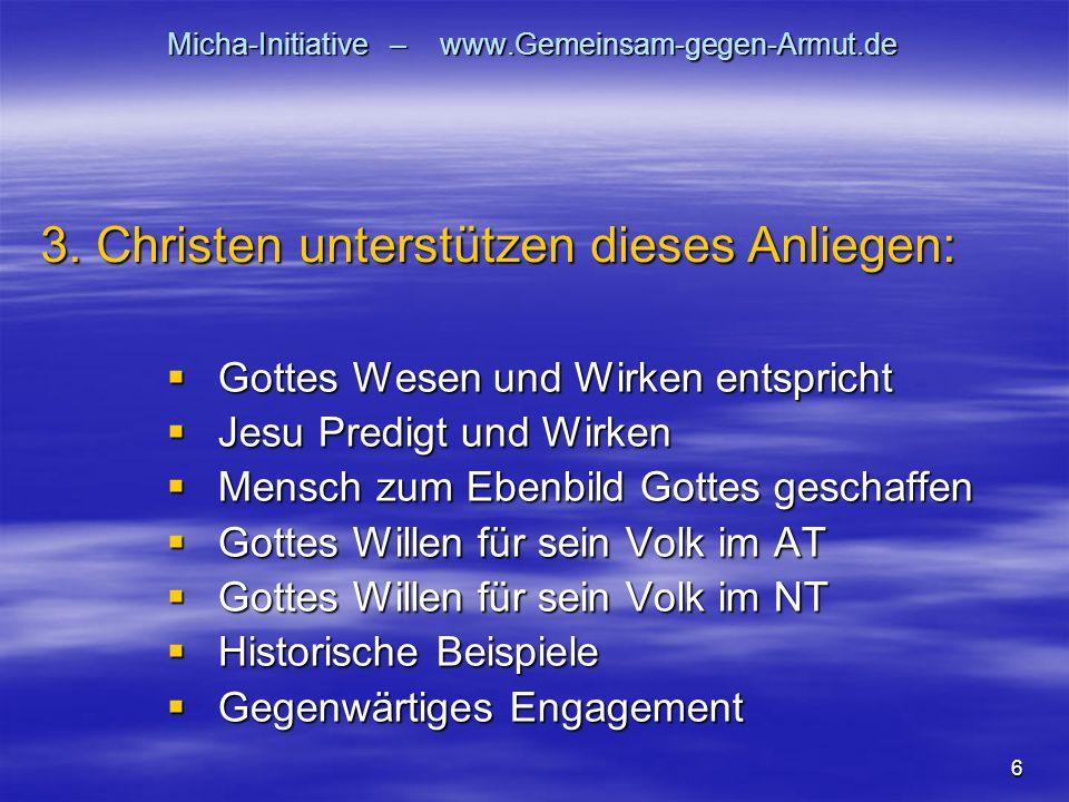 Micha-Initiative – www.Gemeinsam-gegen-Armut.de