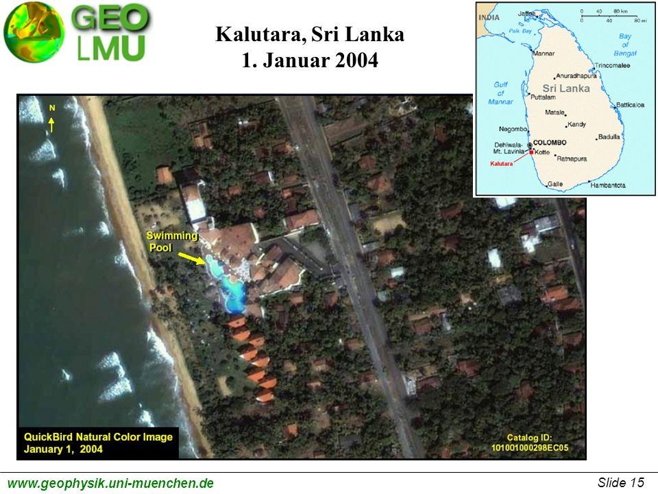 Kalutara, Sri Lanka 1. Januar 2004