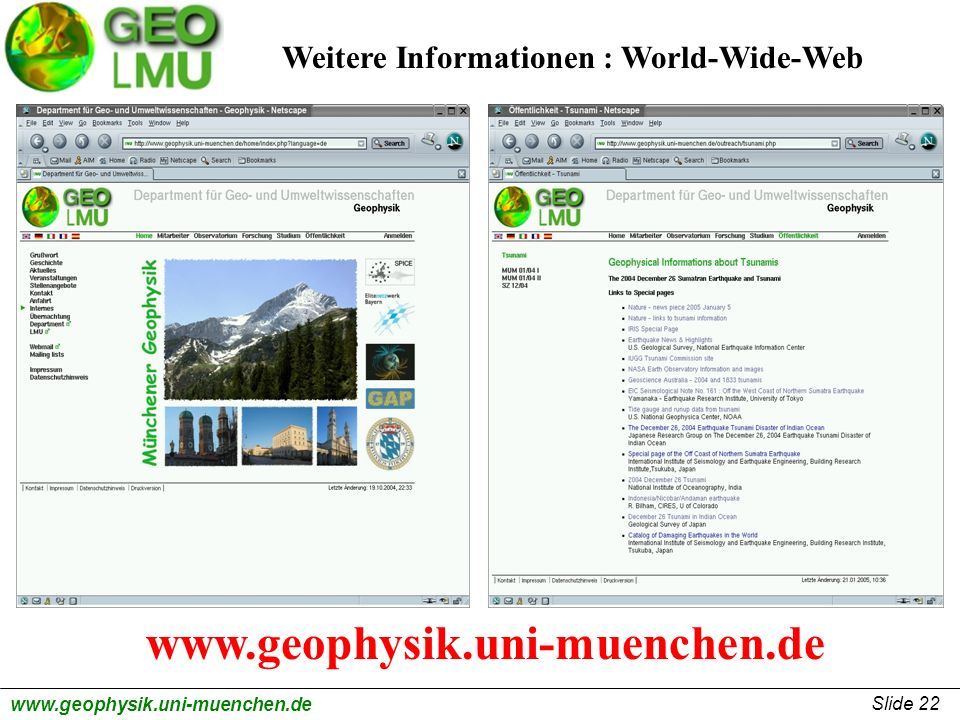 Weitere Informationen : World-Wide-Web