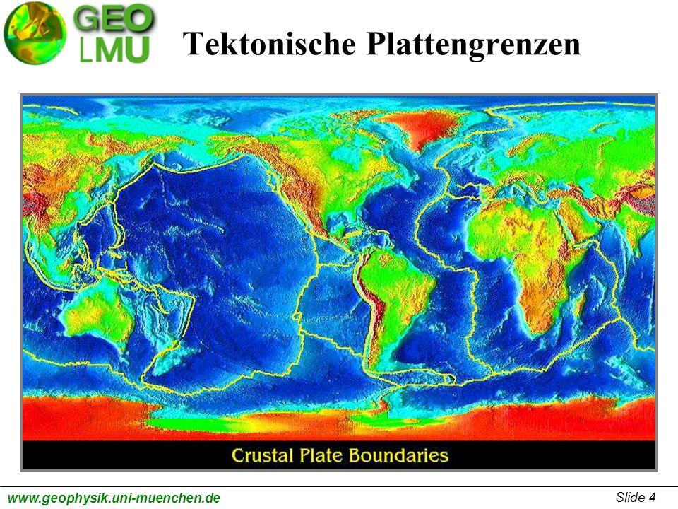 Tektonische Plattengrenzen