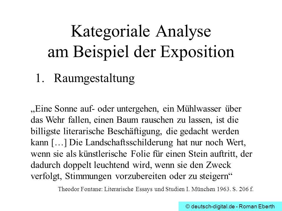 Theodor fontane effi briest ppt video online herunterladen for Raumgestaltung analyse
