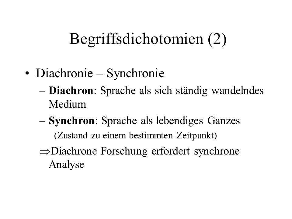 Begriffsdichotomien (2)
