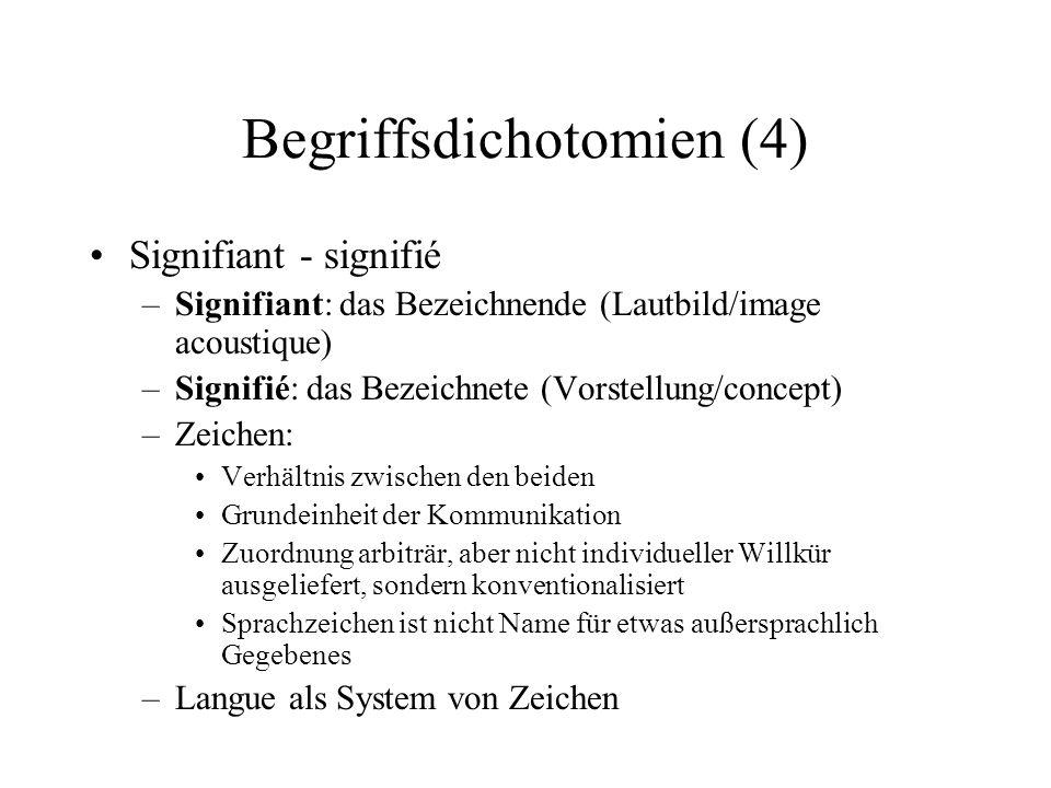 Begriffsdichotomien (4)