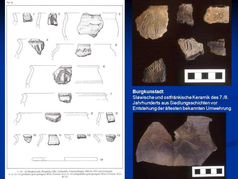 BurgkunstadtSlawische und ostfränkische Keramik des 7./8.