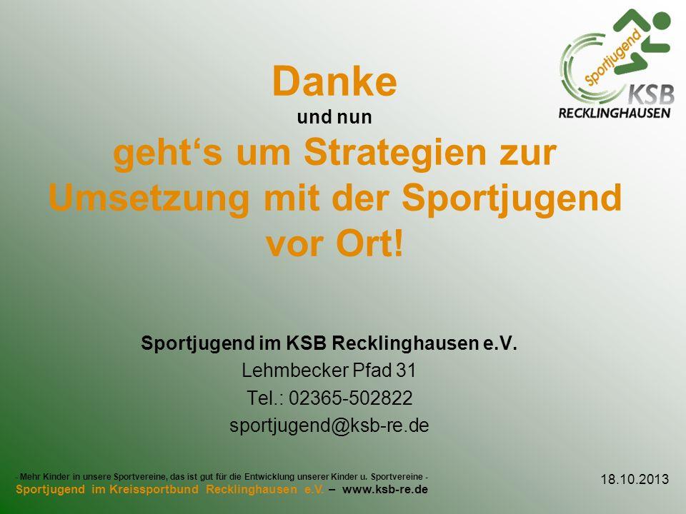 Sportjugend im KSB Recklinghausen e.V.