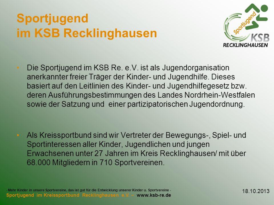 Sportjugend im KSB Recklinghausen