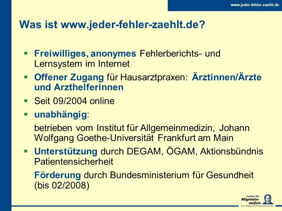 Was ist www.jeder-fehler-zaehlt.de