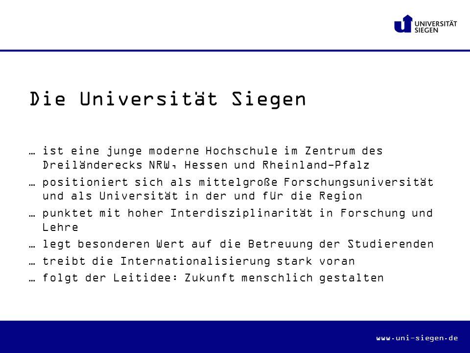 Die Universität Siegen