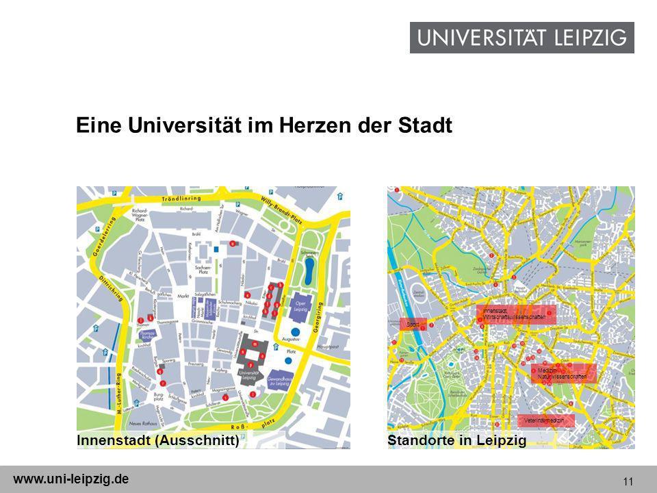 Eine Universität im Herzen der Stadt