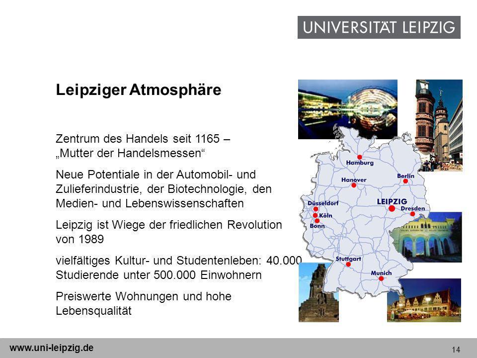 """Leipziger AtmosphäreZentrum des Handels seit 1165 – """"Mutter der Handelsmessen"""