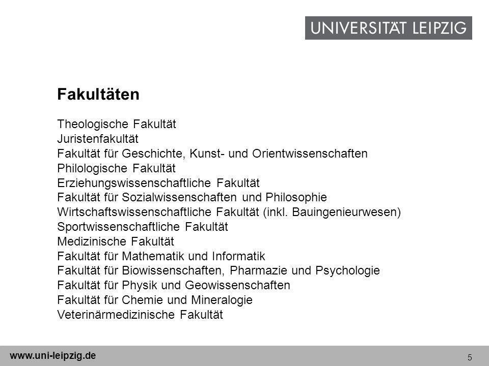 Fakultäten Theologische Fakultät Juristenfakultät