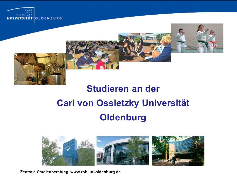 Studieren an der Carl von Ossietzky Universität Oldenburg