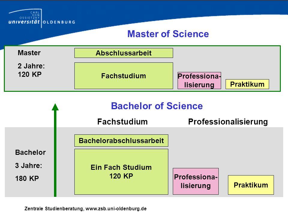 Professionalisierung Bachelorabschlussarbeit