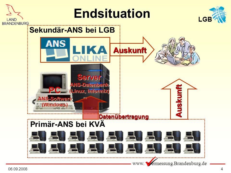 Endsituation PC Sekundär-ANS bei LGB Auskunft Server Auskunft