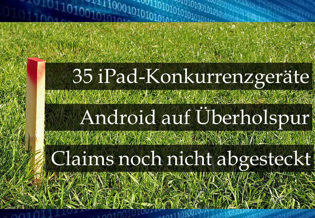 35 iPad-Konkurrenzgeräte