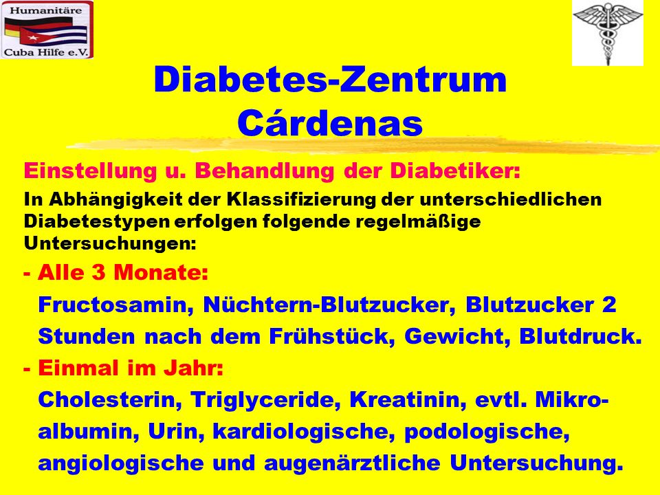 Diabetes-Zentrum Cárdenas