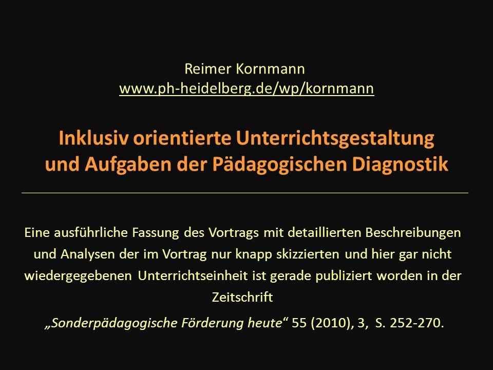 """""""Sonderpädagogische Förderung heute 55 (2010), 3, S. 252-270."""
