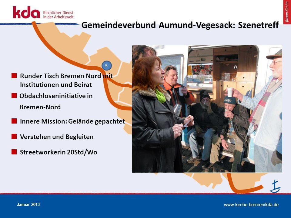 Gemeindeverbund Aumund-Vegesack: Szenetreff