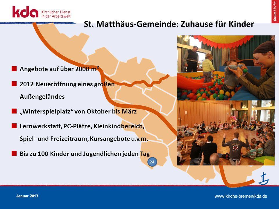 St. Matthäus-Gemeinde: Zuhause für Kinder