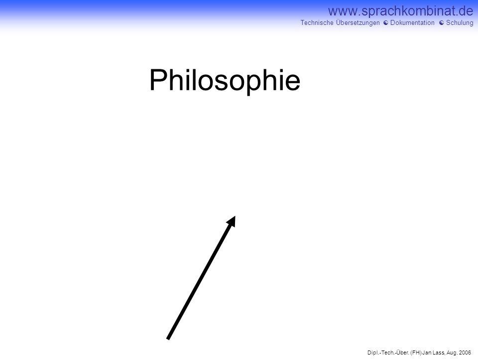 Philosophie ...den steilen Punkt der Lernkurve anpeilen!