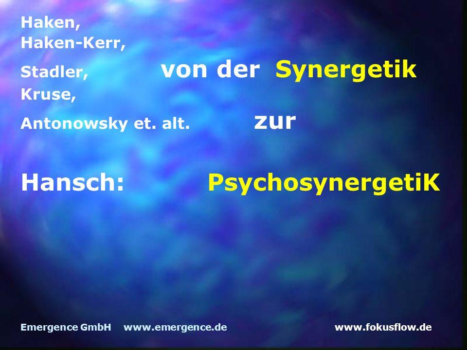Hansch: PsychosynergetiK