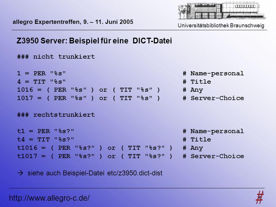 Z3950 Server: Beispiel für eine DICT-Datei