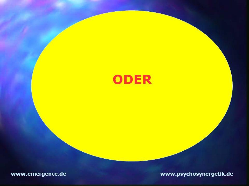 ODER www.emergence.de www.psychosynergetik.de