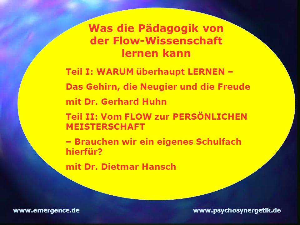 Was die Pädagogik von der Flow-Wissenschaft lernen kann
