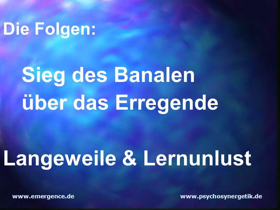 Langeweile & Lernunlust