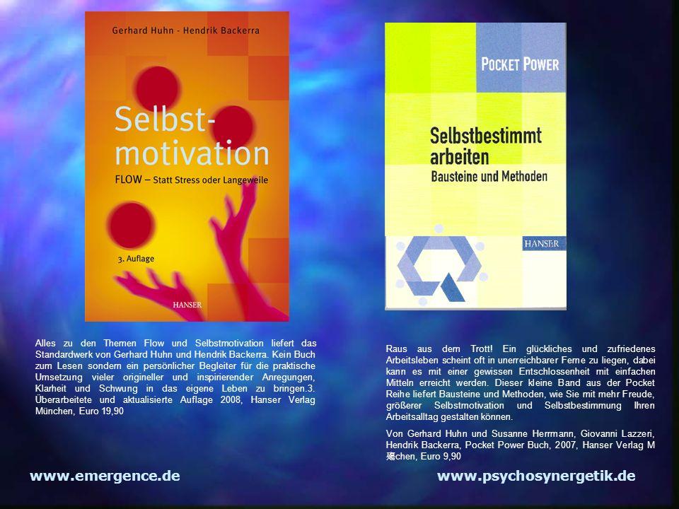 www.emergence.de www.psychosynergetik.de