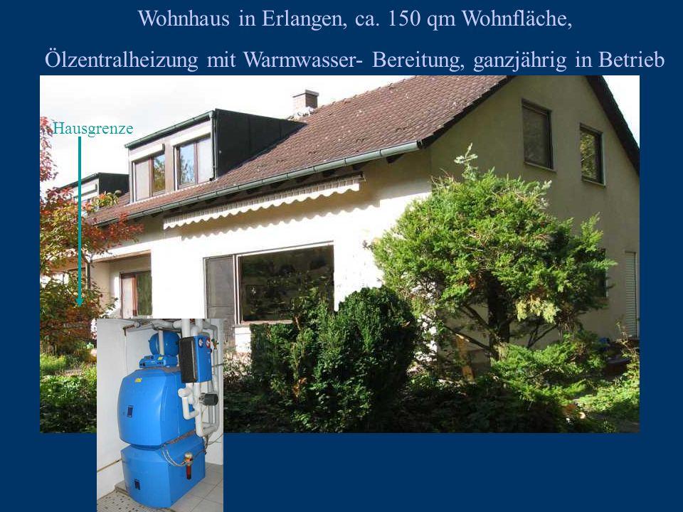 Wohnhaus in Erlangen, ca. 150 qm Wohnfläche,