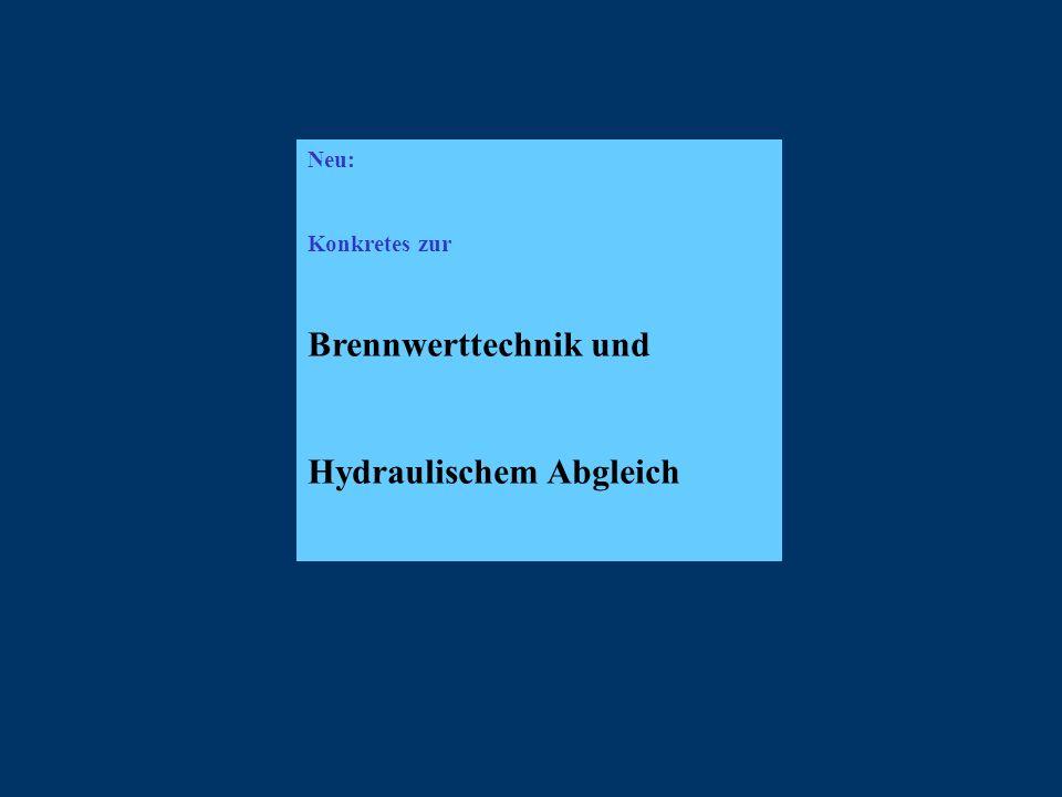 Hydraulischem Abgleich