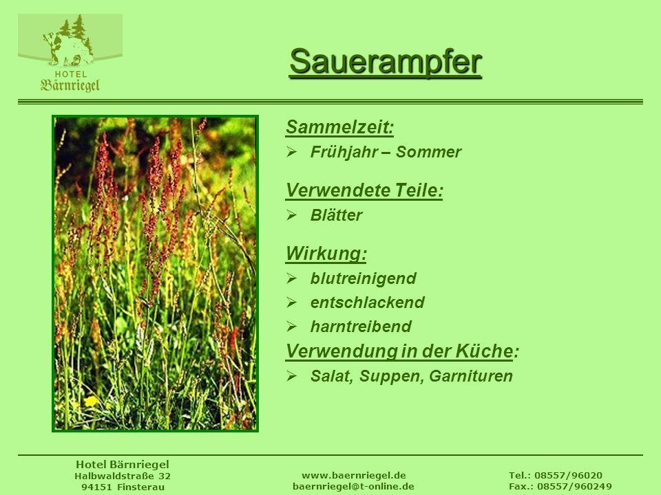 www.baernriegel.de baernriegel@t-online.de
