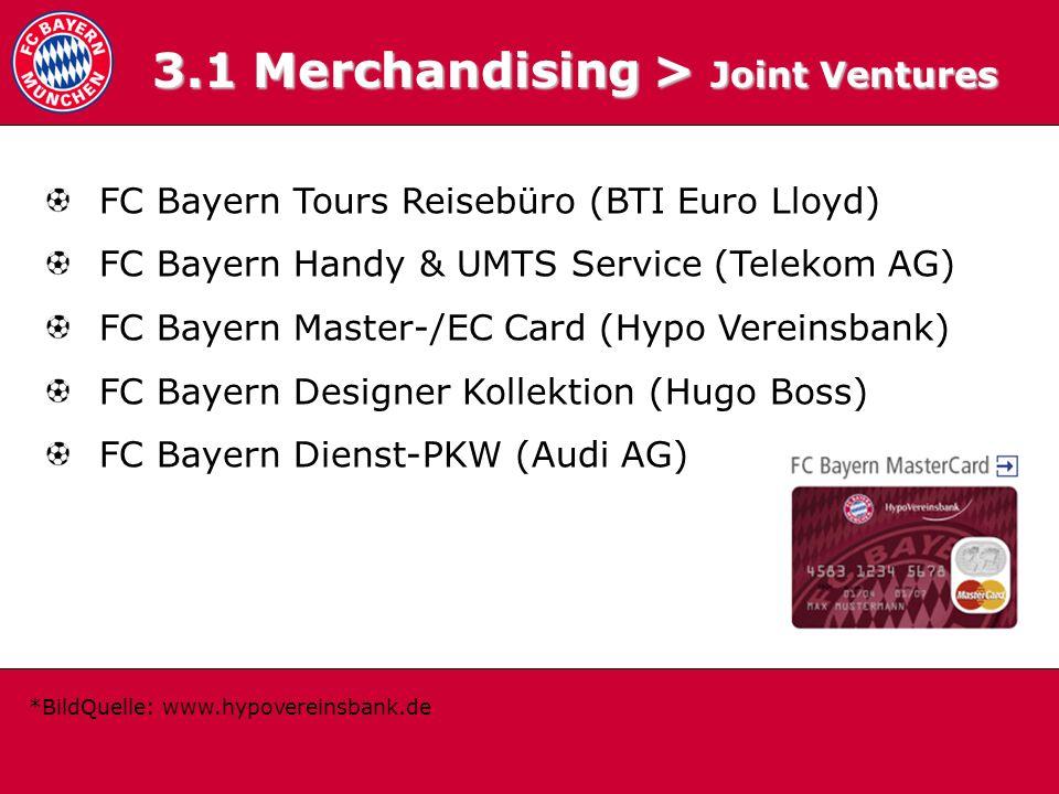 3.1 Merchandising > Joint Ventures